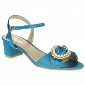 1f65bcee53af2e Aarz London Aideen- Fancy Block-heel Sandal