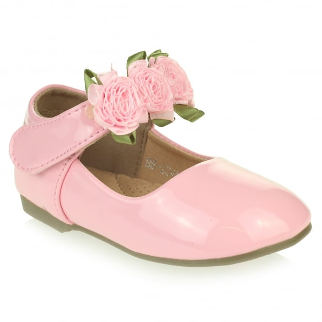 Anthea- Flower Detail Shoes