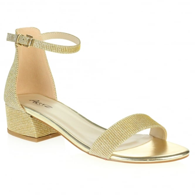Barbary- Shimmery Two-part Sandals
