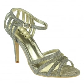 Dorthy- Glittery Evening Sandals