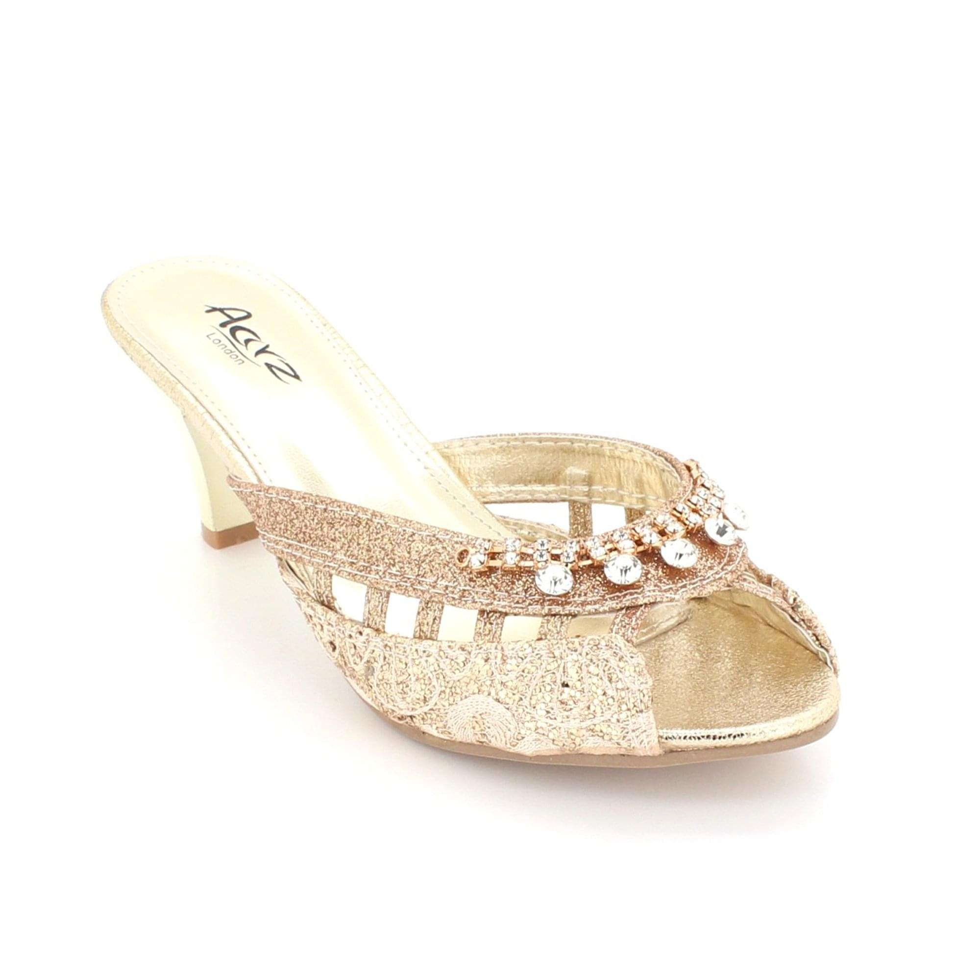 9ae51481958 Aarz London Effie- Lace Decorated Sandal