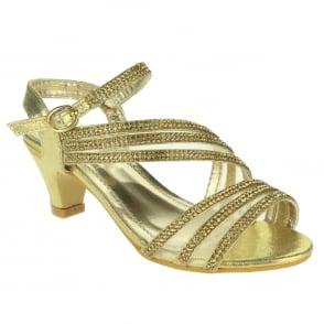 db7f7115933 Aarz London Eileen- Asymmetrical Strap Sandals