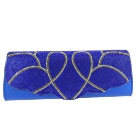 Eloise- Shiny Evening Clutch