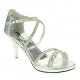 be2a0a9e270 Aarz London Frances- Platform Cross-strap Sandals