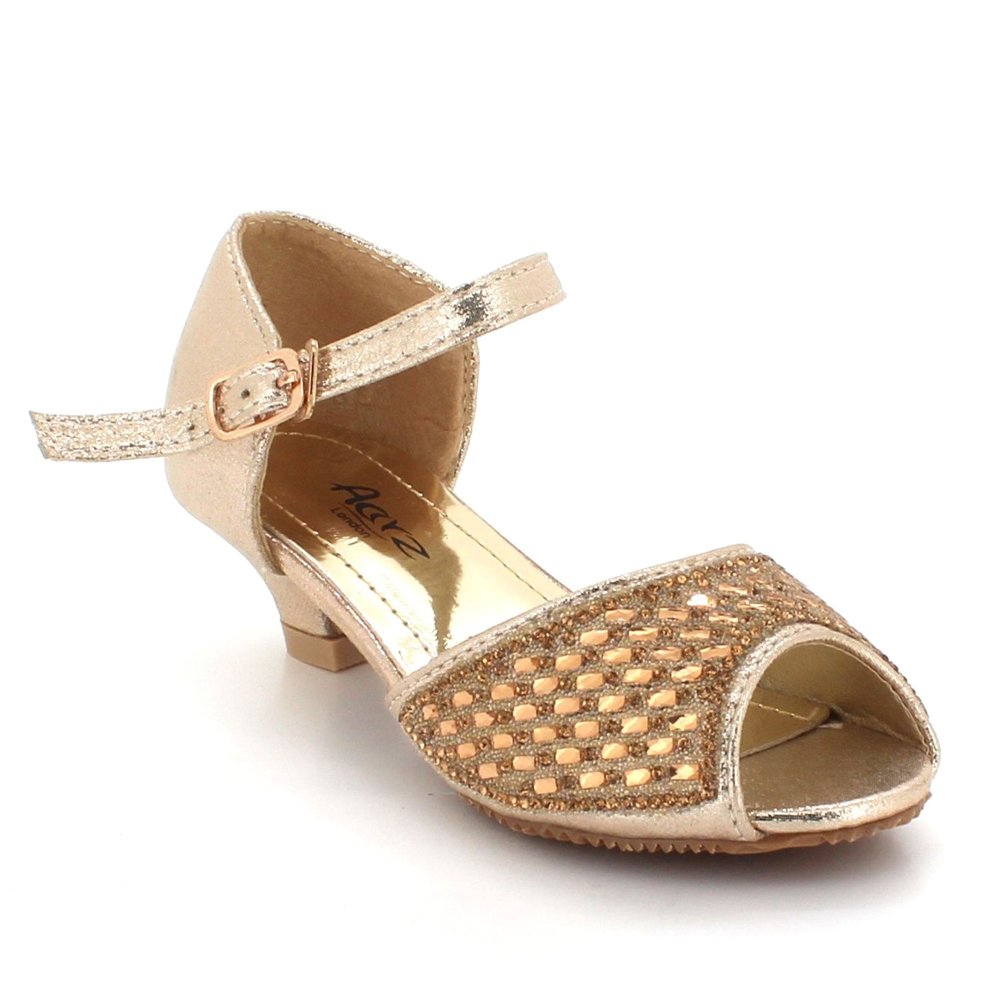 074b520763b6 Aarz London July- Sparkly Rhinestones Footwear. Kids ...