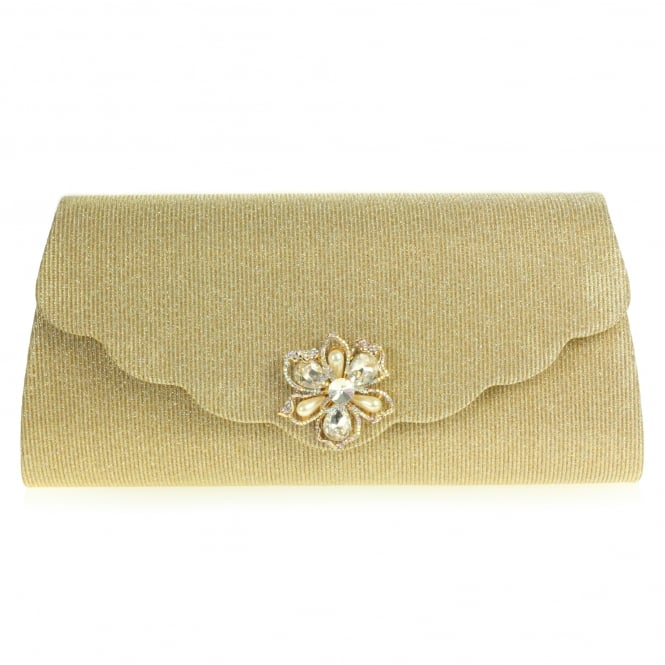 Sierra- Scalloped Envelope Clutch