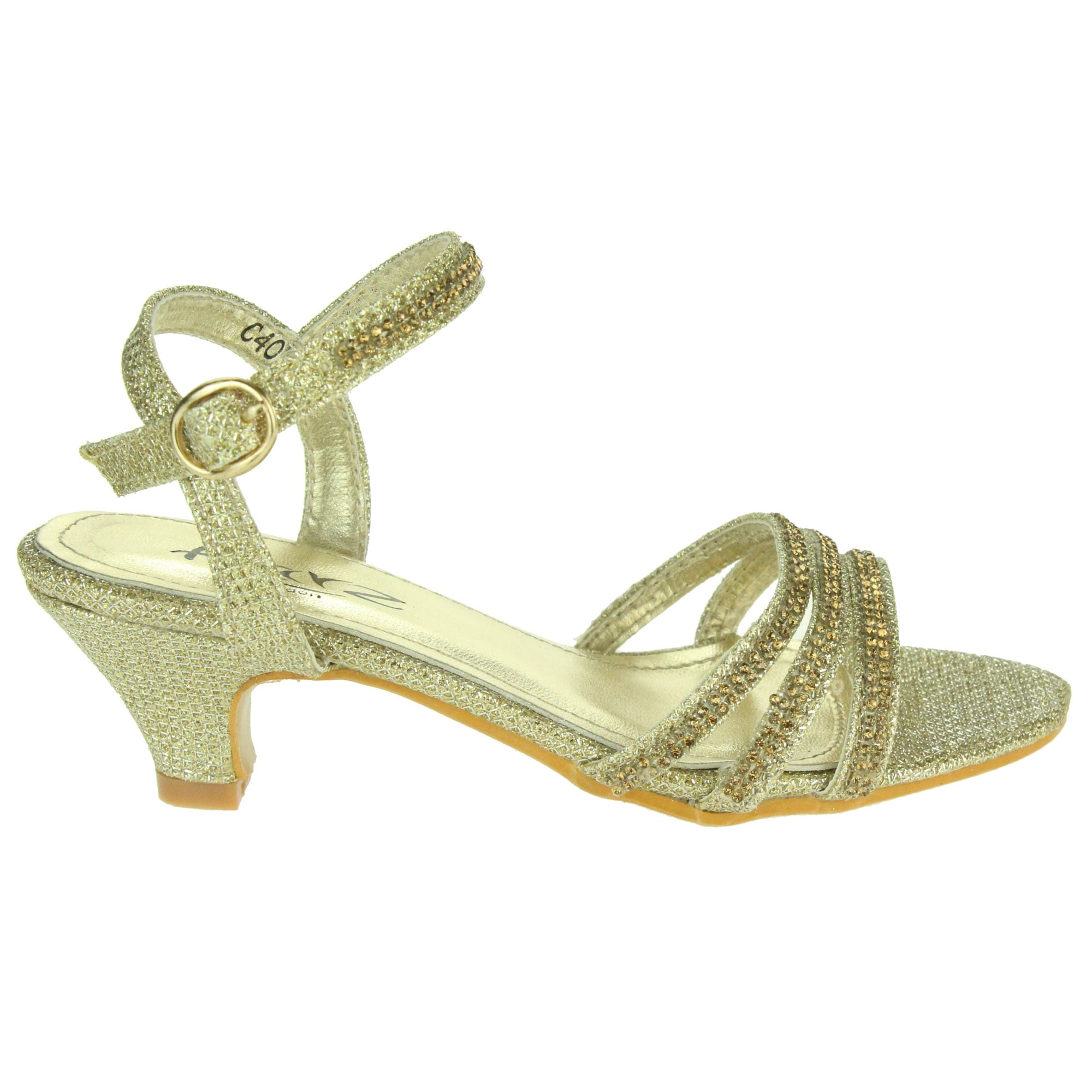 f882124fc9d Thurza- Crystal Kitten Heels