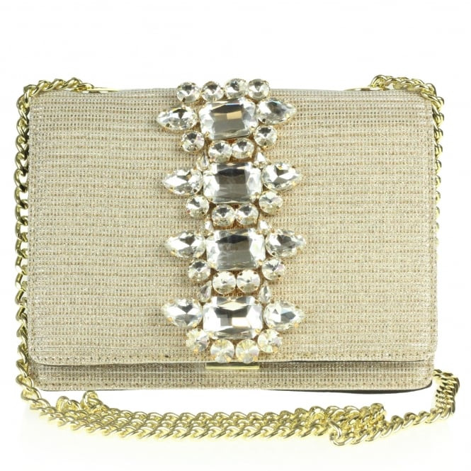 Zelma- Crystal Detailed Clutch